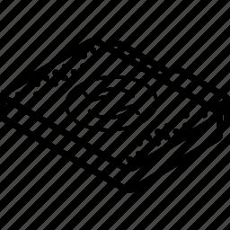 file, folder, isometric, sync icon