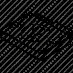 file, folder, ideas, isometric icon