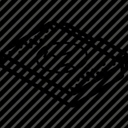 file, folder, isometric, sound icon