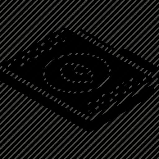 file, folder, isometric, show icon