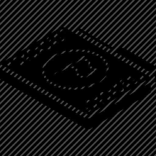 file, flag, folder, isometric icon