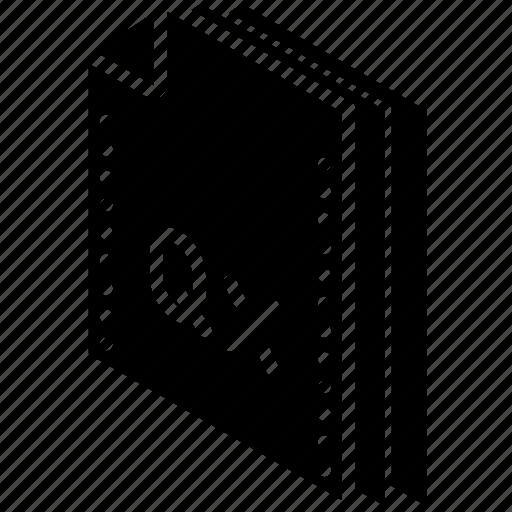 express, file, folder, isometric, quark icon