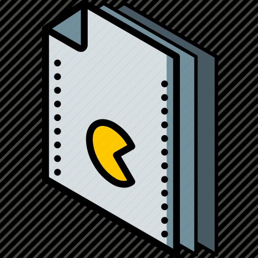 file, folder, games, isometric icon