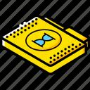 file, folder, isometric, timed