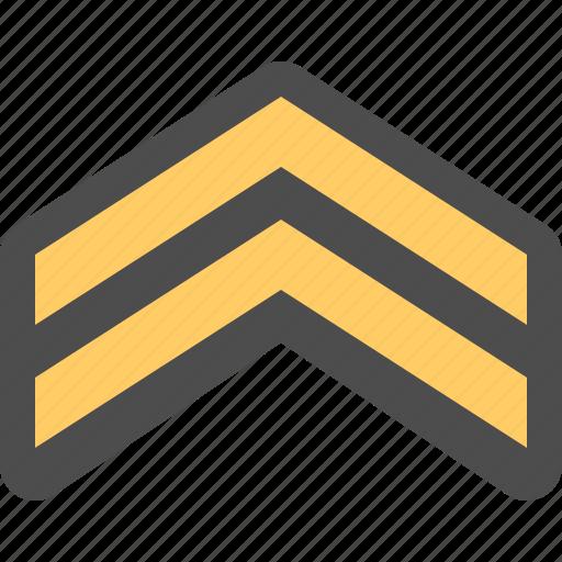 army, army rank, corporal, military rank icon