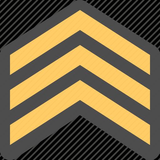 Army rank, military rank, nco, sergeant icon   Icon search ...