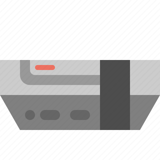 console, game system, old console, video game console icon