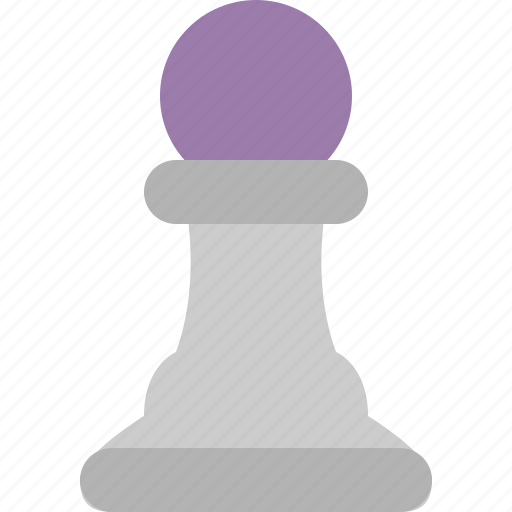 board game, chess, chess piece, pawn icon