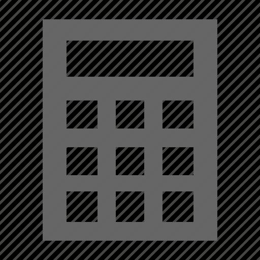 calculator, set icon