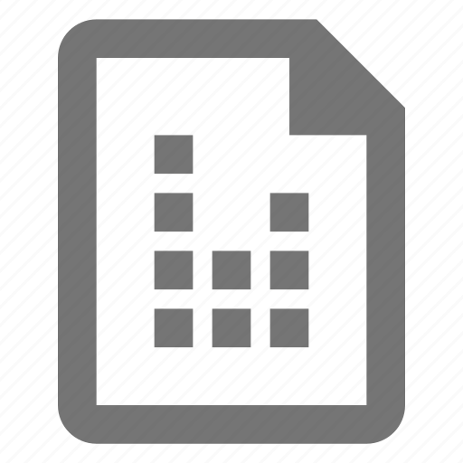 audio, document, file, format, media, paper, sheet icon