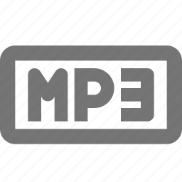 audio, document, format, media, mp3, music icon