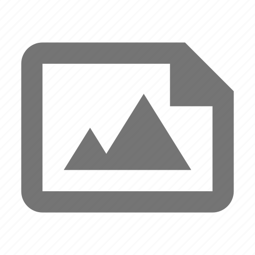 file, image, photo icon