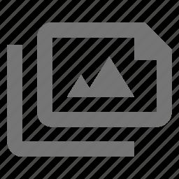 files, image, photo icon