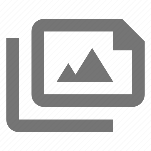 document, files, image, media, paper, photo, sheet icon