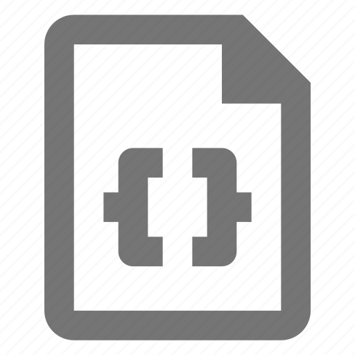 coding, document, file, format, paper, programming, sheet icon
