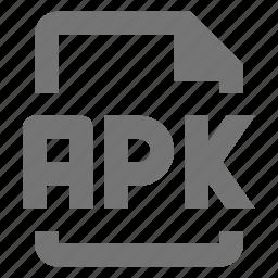 apk, coding, file, programming icon