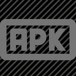 apk, coding, programming icon