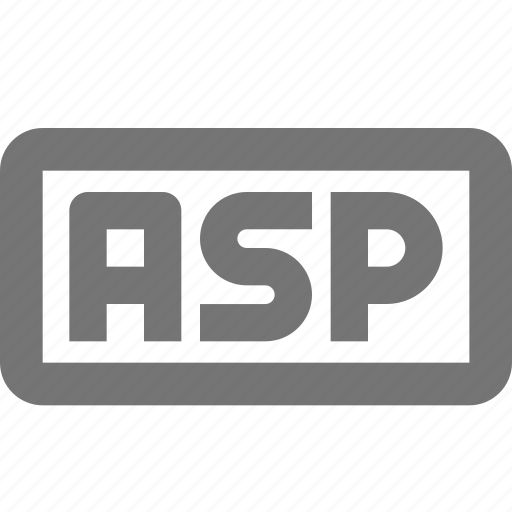 asp, coding, document, format, language, programming, web icon