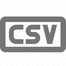 coding, csv, programming icon