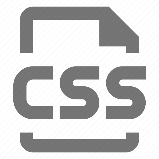 coding, css, file, programming icon