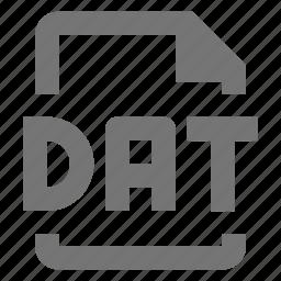 coding, dat, data, file, programming icon