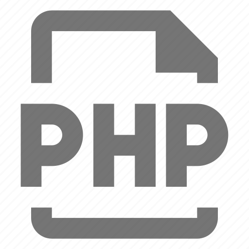 coding, file, php, programming icon