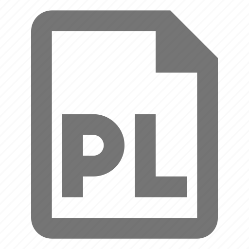 coding, file, pearl, pl, programming icon