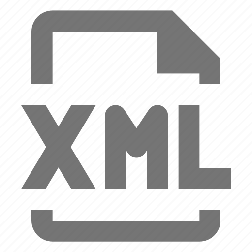 coding, document, file, format, paper, programming, sheet, xml icon