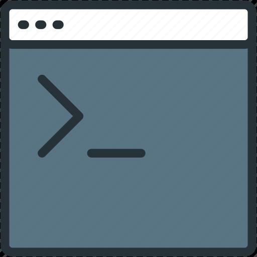 console, files icon