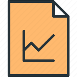 files, stats icon