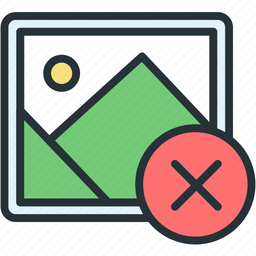 close, files, image, picture icon