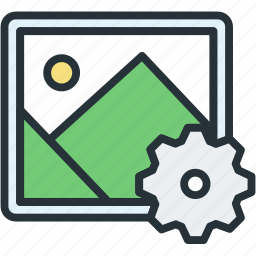 files, image, picture, settings icon