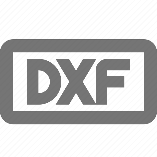dxf, extension, format icon