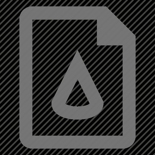 cone, extension, file, format icon