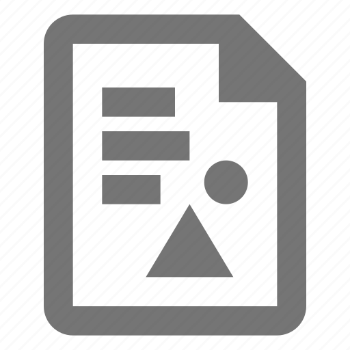 document, extension, file, format, image, photo, text icon