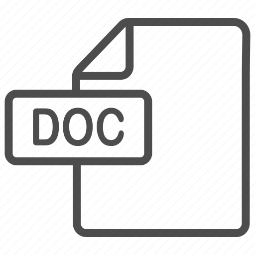 doc, document, file, word icon