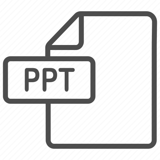 document, file, point, power, powerpoint, ppt icon