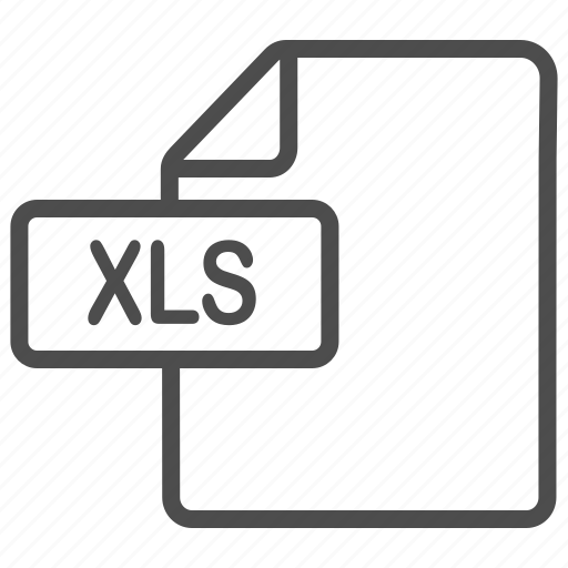 document, excel, file, xls icon