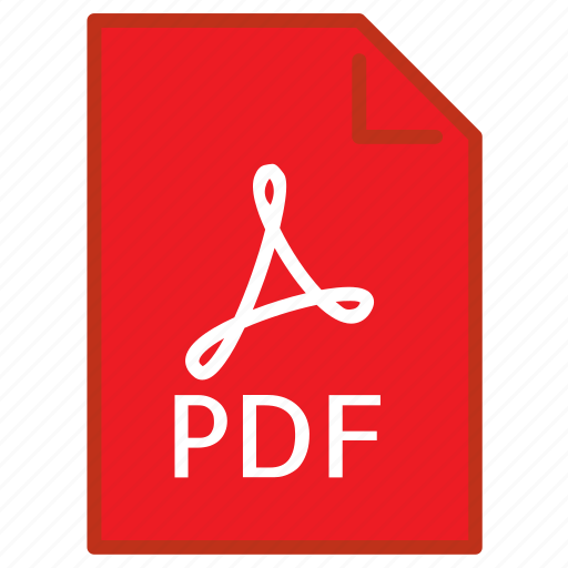 Document, extension, file, filetype, format, pdf, type icon - Download on Iconfinder