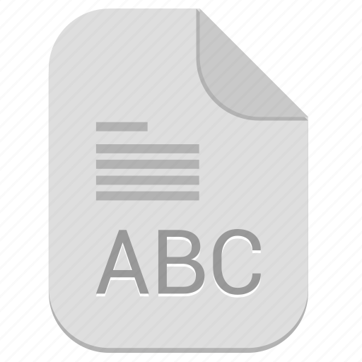 abc, address, book, document, file icon