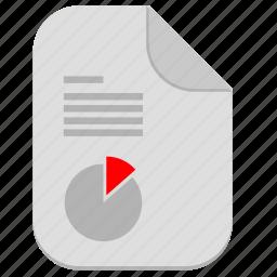 chart, document, economic, file, report icon