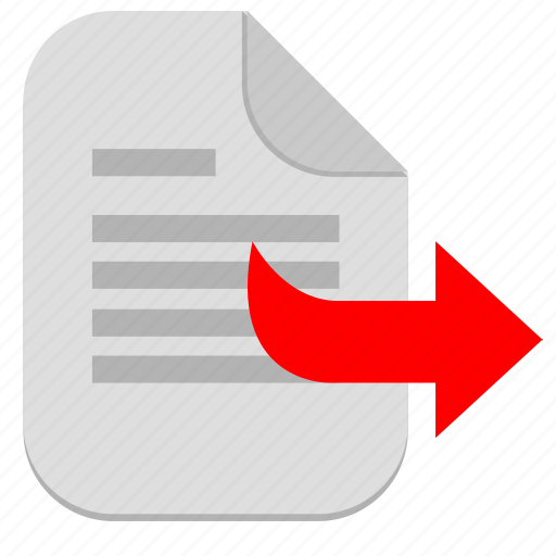 document, file, next, operation, right icon