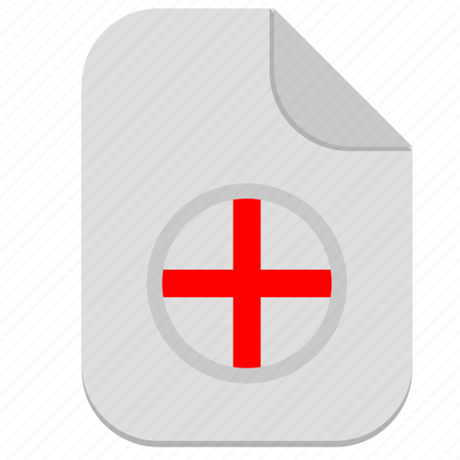add, document, file, operation, plus icon