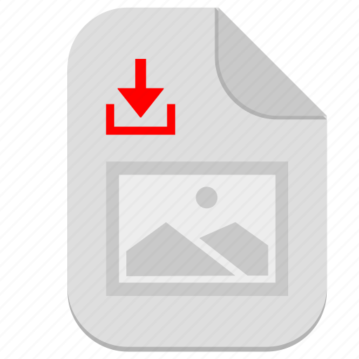 document, download, file, image, picture icon