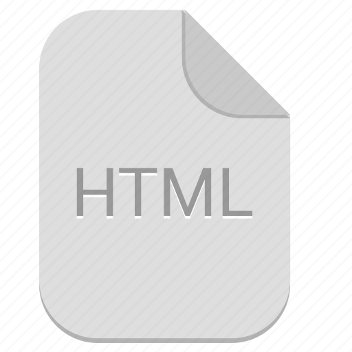 document, file, html, hypertext, page icon
