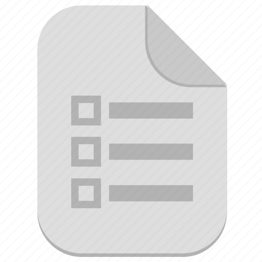 bill, document, file, list, rules icon