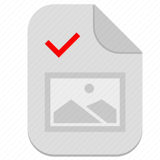 accept, complete, document, file, ok, operation, picture icon