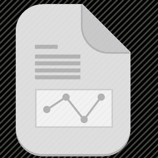 article, economic, file, graphic, science, text icon