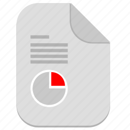chart, document, economic, file, report, text icon