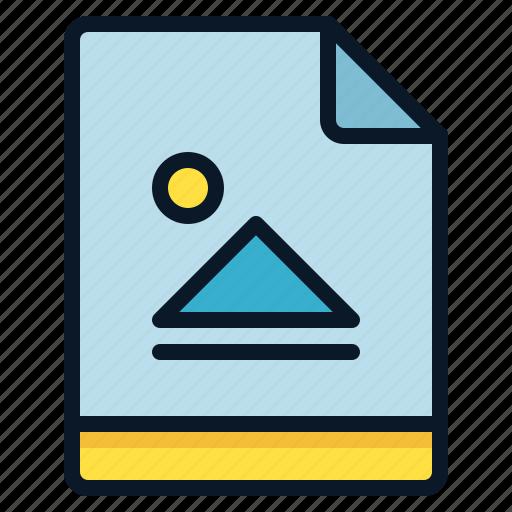 file, graphic, image, picture icon